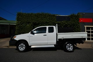 2005 Toyota Hilux KUN26R SR (4x4) White 5 Speed Manual X Cab Cab Chassis