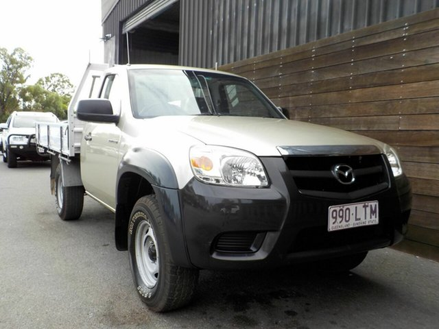 Used Mazda BT-50 UNY0E4 DX Labrador, 2009 Mazda BT-50 UNY0E4 DX Gold 5 Speed Manual Cab Chassis