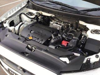2012 Mitsubishi ASX XA MY12 2WD White 6 Speed Constant Variable Wagon