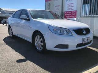 2010 Holden Epica EP MY10 CDX White 6 Speed Sports Automatic Sedan.