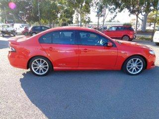 2013 Ford Falcon FG MkII XR6 Red 6 Speed Sports Automatic Sedan.