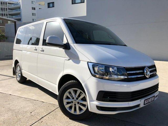Used Volkswagen Multivan Goulburn, 2017 Volkswagen Multivan TDI340 - Comfortline White Sports Automatic Dual Clutch Wagon