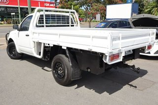 2012 Nissan Navara D40 S6 MY12 RX White 6 Speed Manual Cab Chassis