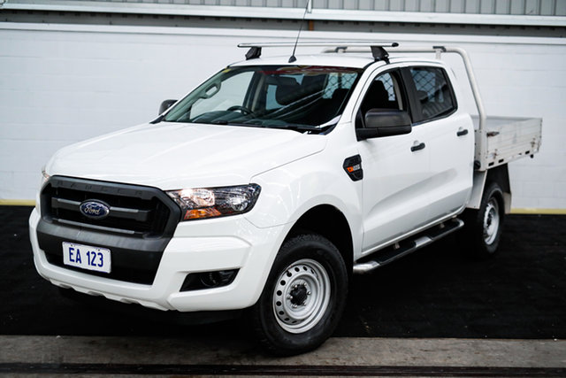Used Ford Ranger PX MkII XL Hi-Rider Canning Vale, 2015 Ford Ranger PX MkII XL Hi-Rider White 6 Speed Sports Automatic Cab Chassis