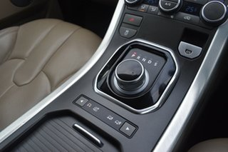 2012 Land Rover Range Rover Evoque L538 MY12 SD4 CommandShift Pure Silver 6 Speed Sports Automatic