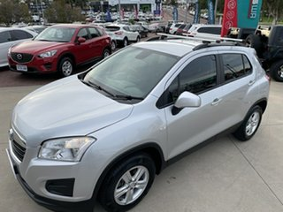 2014 Holden Trax TJ MY15 LS Silver 6 Speed Automatic Wagon