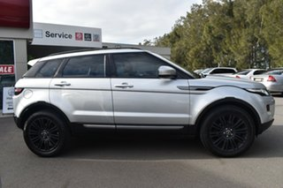 2012 Land Rover Range Rover Evoque L538 MY12 SD4 CommandShift Pure Silver 6 Speed Sports Automatic.