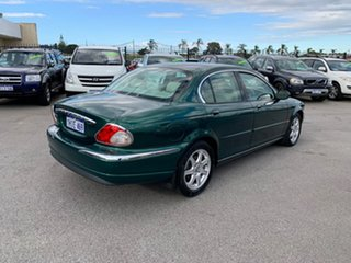 2003 Jaguar X-Type Green 5 Speed Automatic Sedan