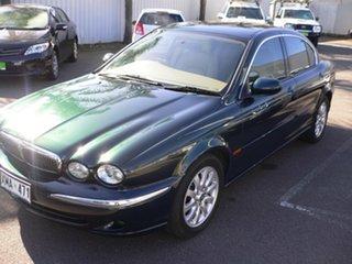 2001 Jaguar X-Type X400 SE Green & Black 5 Speed Automatic Sedan