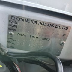 2007 Toyota Hilux TGN16R MY07 Workmate 4x2 White 5 Speed Manual Cab Chassis