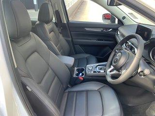 2021 Mazda CX-5 KF4WLA GT SKYACTIV-Drive i-ACTIV AWD Snowflake White 6 Speed Sports Automatic Wagon