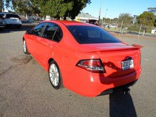 2013 Ford Falcon FG MkII XR6 Red 6 Speed Sports Automatic Sedan