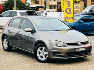 2013 Volkswagen Golf VII MY14 90TSI DSG Grey 7 Speed Sports Automatic Dual Clutch Hatchback.