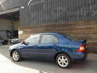 2005 Toyota Corolla ZZE122R 5Y Ascent Sport Blue 4 Speed Automatic Sedan