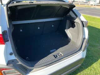 2018 Hyundai Kona OS.2 MY19 Active D-CT AWD White 7 Speed Sports Automatic Dual Clutch Wagon