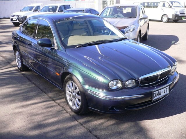 Used Jaguar X-Type X400 SE St Marys, 2001 Jaguar X-Type X400 SE Green & Black 5 Speed Automatic Sedan