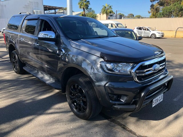 Used Ford Ranger PX MkIII 2019.00MY XLT St Marys, 2018 Ford Ranger PX MkIII 2019.00MY XLT Grey & Black 10 Speed Sports Automatic Utility
