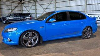2010 Ford Falcon FG XR6 Turbo 50th Anniversary Blue 6 Speed Sports Automatic Sedan.