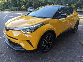 2018 Toyota C-HR NGX50R Koba S-CVT AWD Yellow 7 Speed Constant Variable Wagon