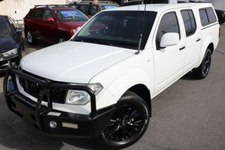 2013 Nissan Navara D40 S7 MY12 RX White 5 Speed Automatic Utility.