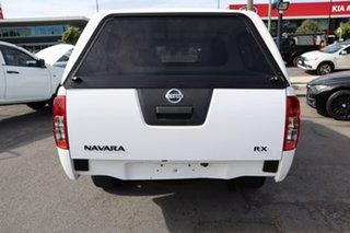 2013 Nissan Navara D40 S7 MY12 RX White 5 Speed Automatic Utility
