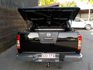 2010 Nissan Navara D40 MY10 ST-X Black 5 Speed Automatic Utility