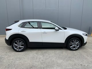 2021 Mazda CX-30 DM2W7A G20 SKYACTIV-Drive Evolve Snowflake White 6 Speed Sports Automatic Wagon.