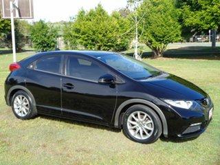 2012 Honda Civic 9th Gen VTi-S Black 6 Speed Manual Hatchback.