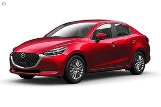 2021 Mazda 2 DL2SAA G15 SKYACTIV-Drive GT Red 6 Speed Sports Automatic Sedan.