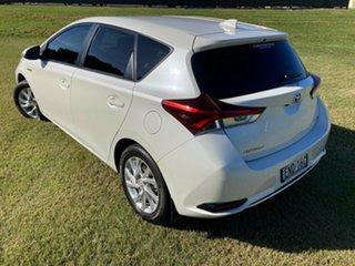 2016 Toyota Corolla ZWE186R Hybrid E-CVT Crystal Pearl 1 Speed Constant Variable Hatchback Hybrid