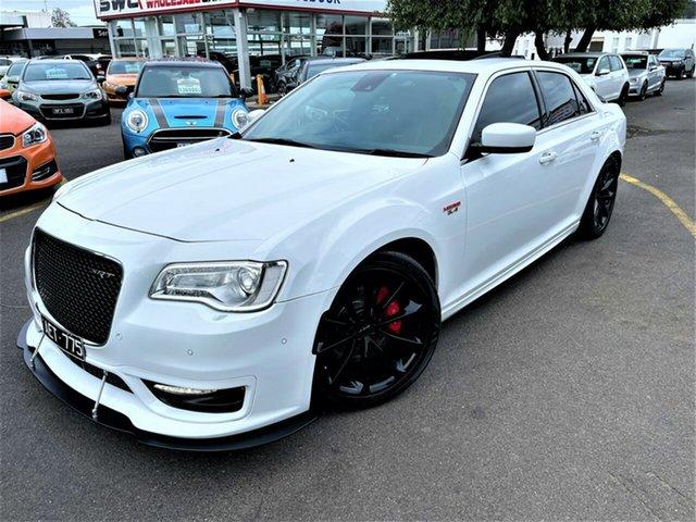 Used Chrysler 300 LX MY16 SRT E-Shift Seaford, 2015 Chrysler 300 LX MY16 SRT E-Shift White 8 Speed Sports Automatic Sedan
