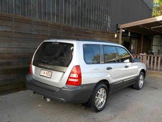 2003 Subaru Forester 79V MY03 X AWD Silver 5 Speed Manual Wagon