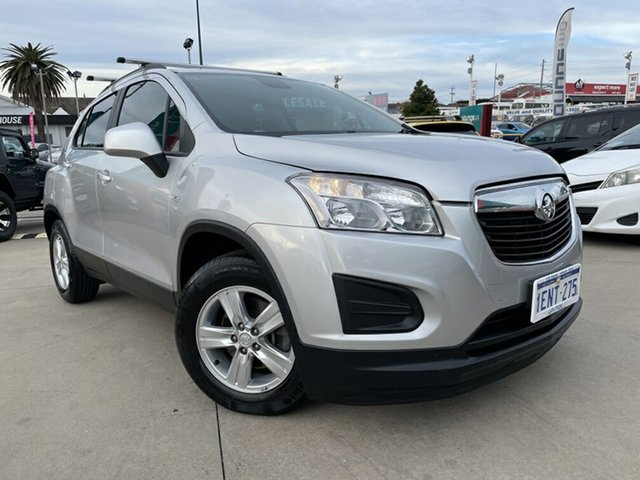 Used Holden Trax TJ MY15 LS Victoria Park, 2014 Holden Trax TJ MY15 LS Silver 6 Speed Automatic Wagon
