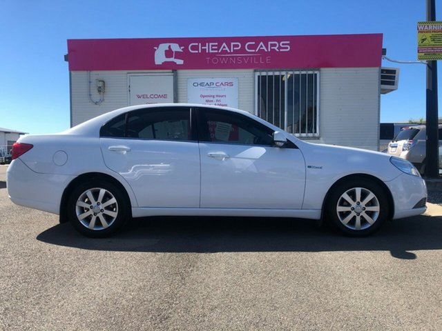Used Holden Epica EP MY10 CDX Garbutt, 2010 Holden Epica EP MY10 CDX White 6 Speed Sports Automatic Sedan