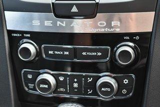 2010 Holden Special Vehicles Senator E3 Signature Black 6 Speed Auto Active Sequential Sedan
