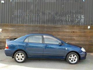 2005 Toyota Corolla ZZE122R 5Y Ascent Sport Blue 4 Speed Automatic Sedan.