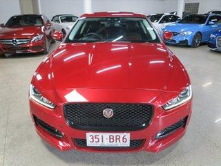 2016 Jaguar XE X760 MY16 R-Sport Red 8 Speed Sports Automatic Sedan.