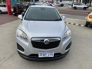 2014 Holden Trax TJ MY15 LS Silver 6 Speed Automatic Wagon.