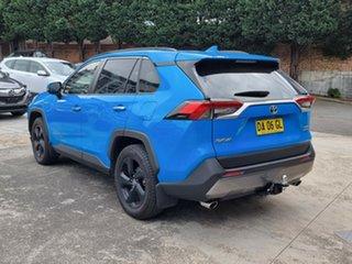 2019 Toyota RAV4 Axah54R Cruiser eFour Blue 6 Speed Constant Variable Wagon Hybrid.