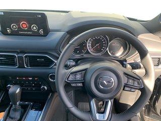 2021 Mazda CX-8 KG2WLA Touring SKYACTIV-Drive FWD Jet Black 6 Speed Sports Automatic Wagon