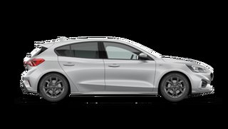 2021 Ford Focus SA ST-Line Moondust Silver 8 Speed Automatic Hatchback.