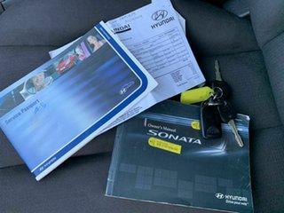 2008 Hyundai Sonata NF MY09 SLX Silver 4 Speed Sports Automatic Sedan