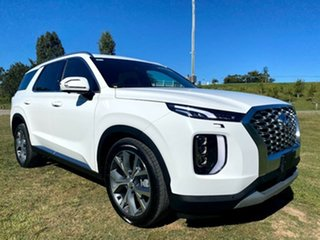 2021 Hyundai Palisade LX2.V1 MY21 Highlander 2WD White Cream 8 Speed Sports Automatic Wagon.