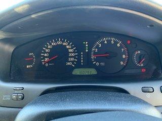 2002 Mitsubishi Verada KJ MY02 EI White 4 Speed Automatic Sedan