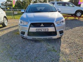 2011 Mitsubishi ASX XA MY11 2WD Silver 5 Speed Manual Wagon.