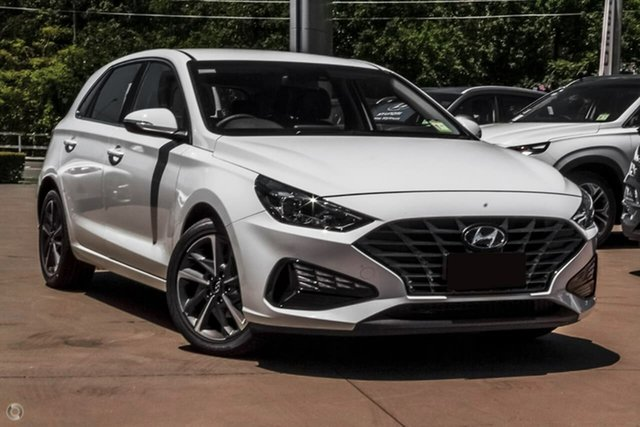 New Hyundai i30 PD.V4 MY21 Active Oakleigh, 2021 Hyundai i30 PD.V4 MY21 Active White 6 Speed Sports Automatic Hatchback