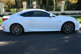 2016 Lexus RC GSC10R RC350 F Sport White 8 Speed Sports Automatic Coupe