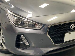 2019 Hyundai i30 PD2 MY19 Active D-CT Grey 7 Speed Sports Automatic Dual Clutch Hatchback.