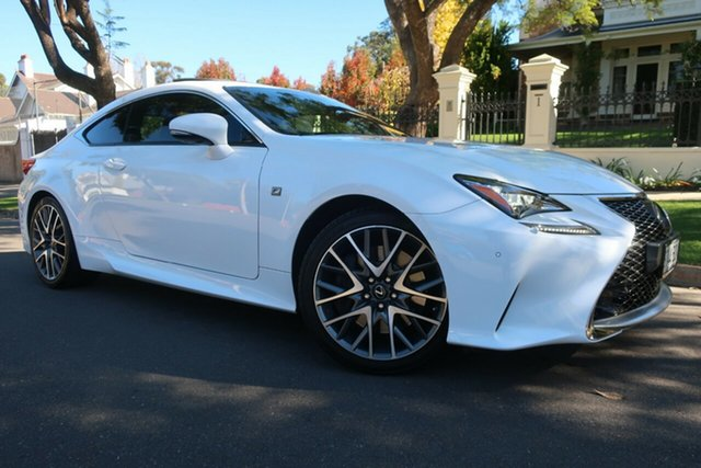 Used Lexus RC GSC10R RC350 F Sport Prospect, 2016 Lexus RC GSC10R RC350 F Sport White 8 Speed Sports Automatic Coupe