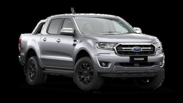 New Ford Ranger PX MkIII 2021.25MY XLT Cardiff, 2021 Ford Ranger PX MkIII 2021.25MY XLT Aluminium 6 Speed Sports Automatic Double Cab Pick Up